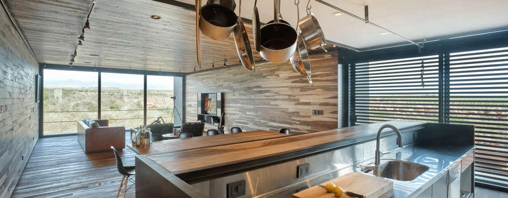 Projekty,  Kuchnia zaprojektowane przez A4estudio