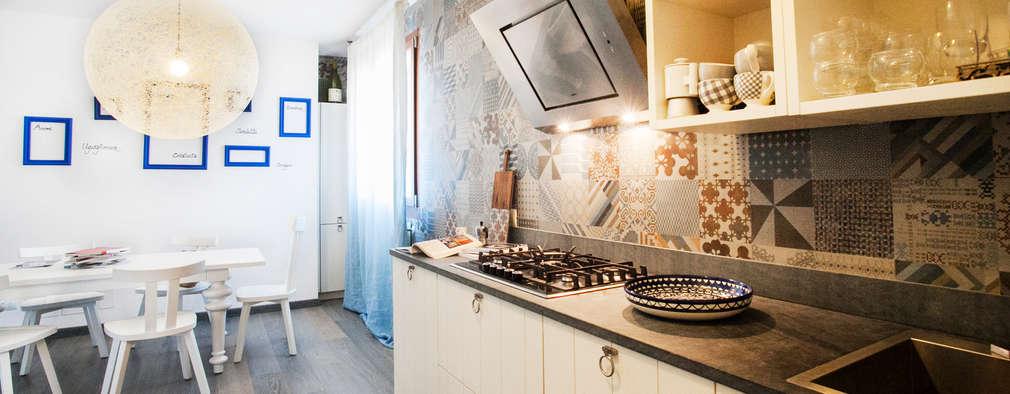 Cocinas de estilo mediterraneo por Alessandro Corina Interior Designer