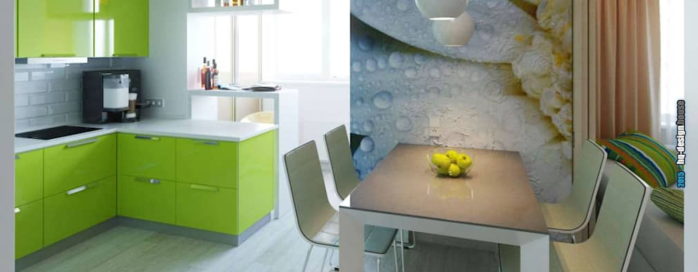modern Dining room by hq-design