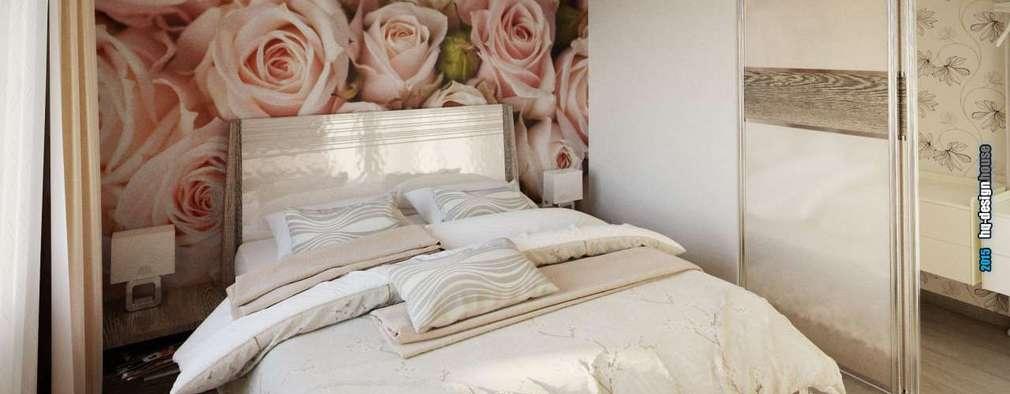 غرفة نوم تنفيذ hq-design