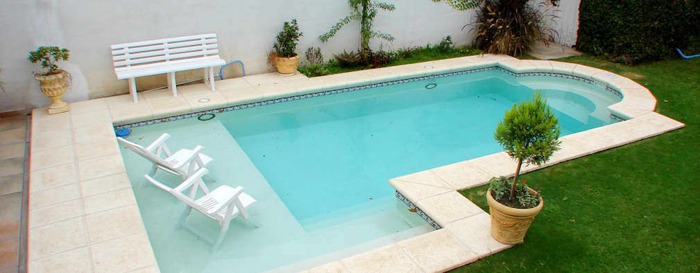 10 piscine pefette per piccoli giardini