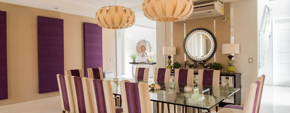 modern Dining room by Saez Sanchez. Arquitectos
