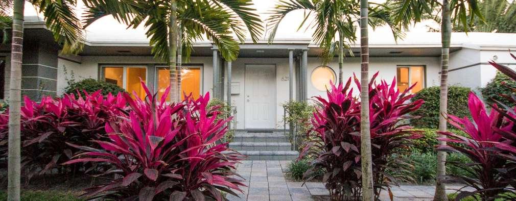 moderner Garten von Elías Arquitectura