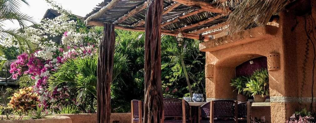 Projekty,  Ogród zaprojektowane przez Elías Arquitectura