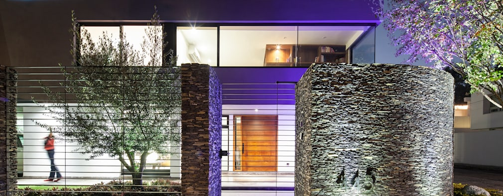 modern Houses by NODO Arquitectura