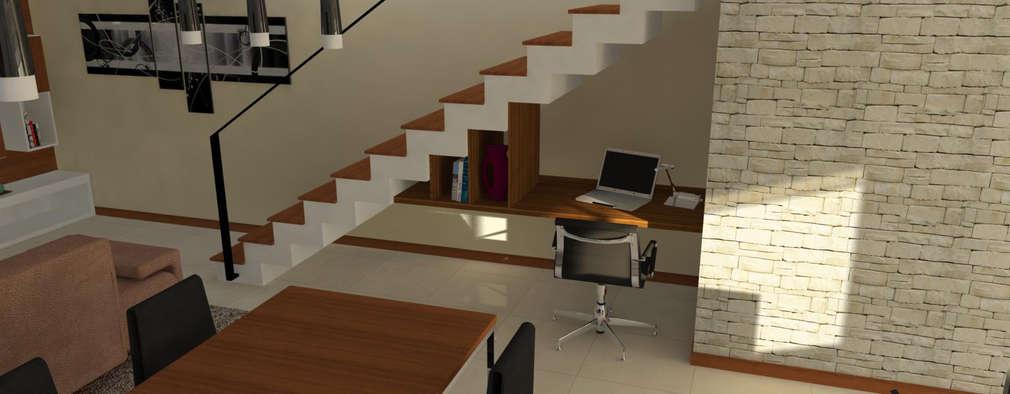 Escaleras con almacenamiento │homify
