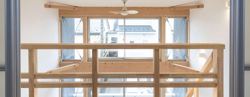 Коридор и прихожая в . Автор – 岡本建築設計室
