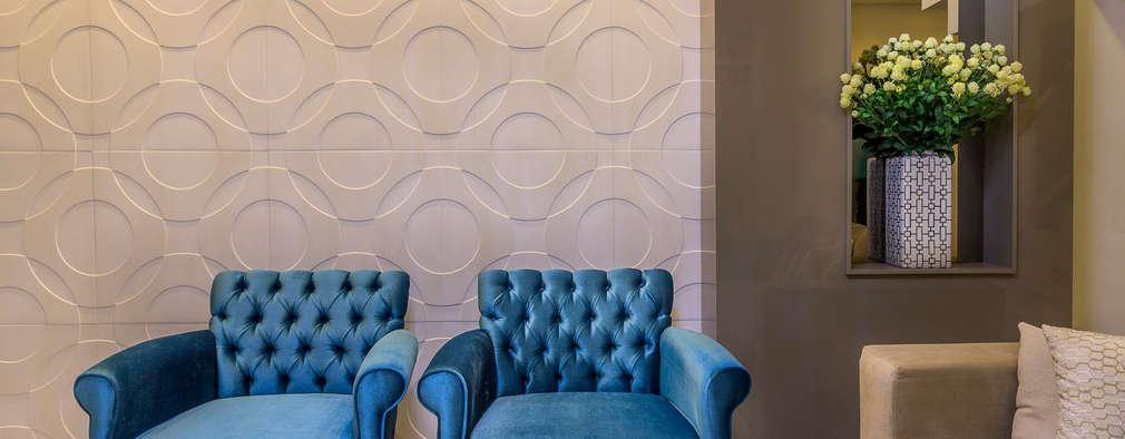 minimalistic Living room by Lyssandro Silveira