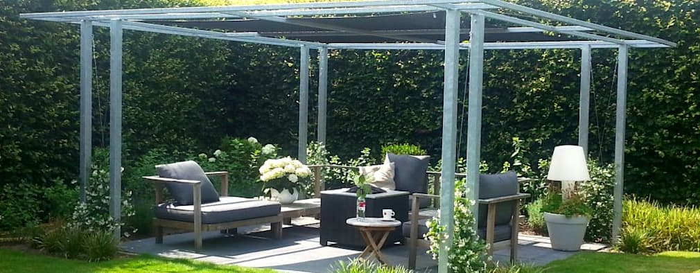 Como construir una p rgola para tu patio - Construir una pergola ...
