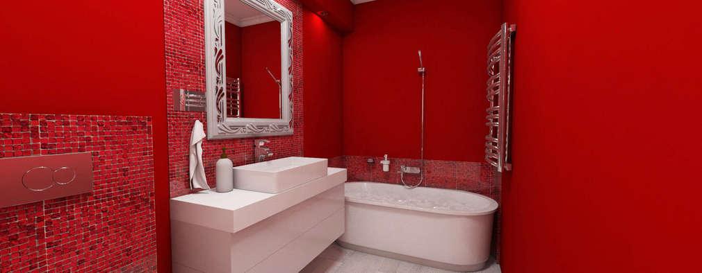 modern Bathroom by Katarzyna Wnęk