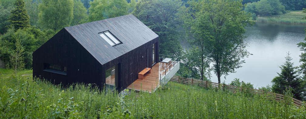 Backraum Architektur: modern tarz Evler