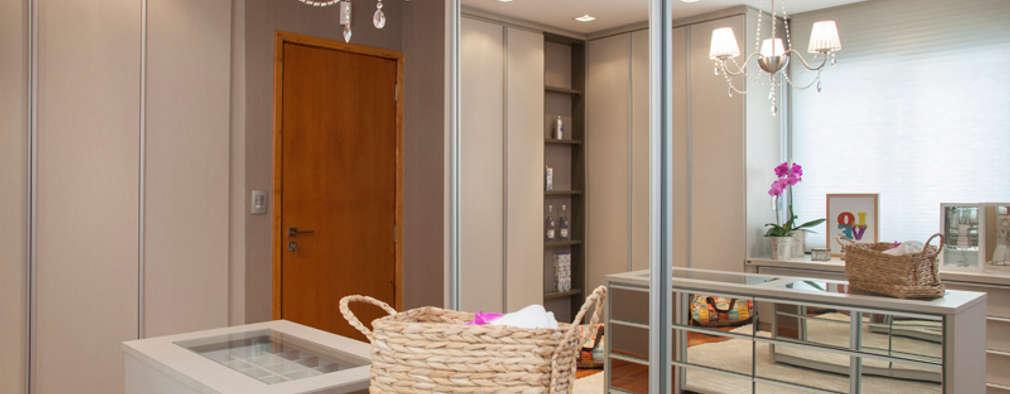Closets de estilo moderno por Arquitetura 8 - Ana Spagnuolo & Marcos Ribeiro