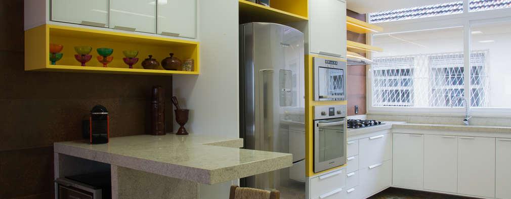 Dapur by HAPPY Arquitetura