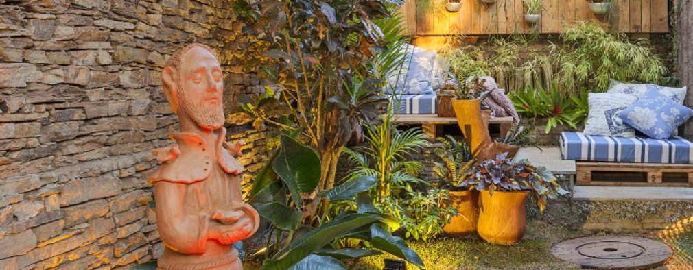 10 pisos baratos para que tu patio se vea como nunca for Baldosas para el jardin