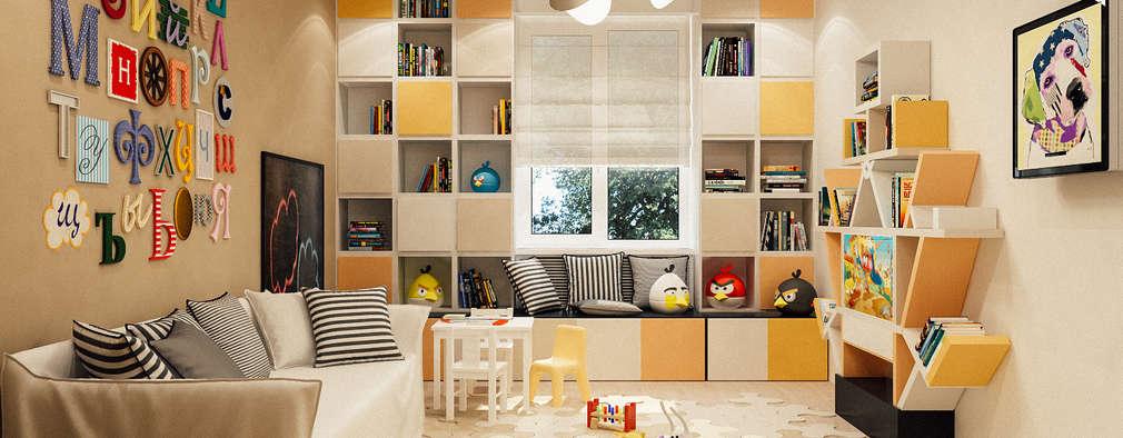 eclectic Nursery/kid's room by Studio Eksarev & Nagornaya