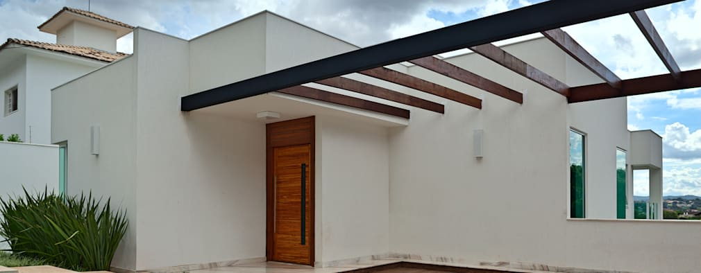 modern Houses by Lucas Lage Arquitetura