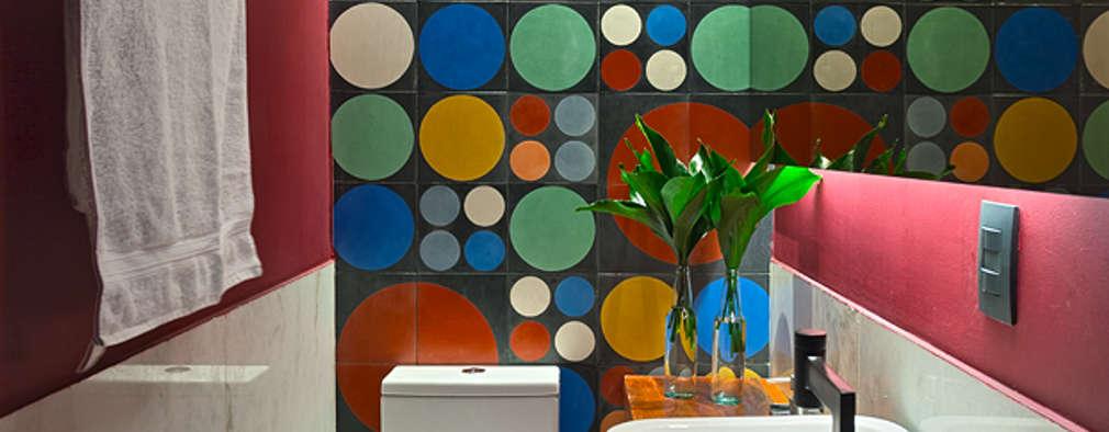 Baños de estilo  por Lucas Lage Arquitetura
