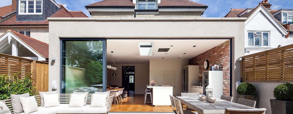 Terrazas  de estilo  por Concept Eight Architects