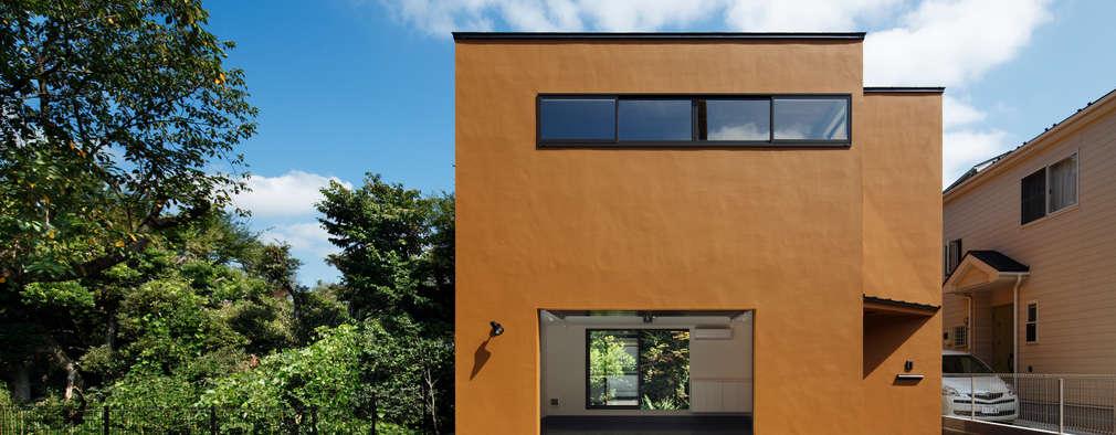 玉縄台の家: 向山建築設計事務所が手掛けた家です。