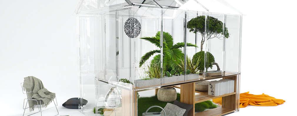 Jardines de estilo industrial por Tabary Le Lay