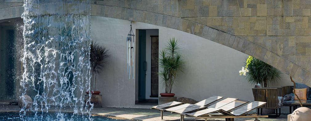 modern Pool by TAO Architecture Pvt. Ltd.