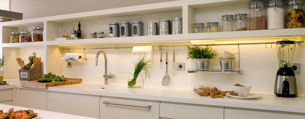 10 ideas para sacarle máximo provecho a una cocina estrecha