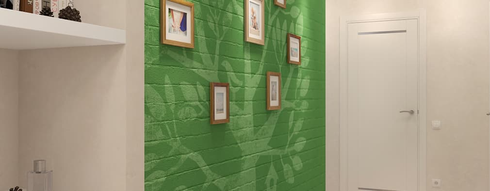 Koridor dan lorong by Мастерская дизайна Welcome Studio