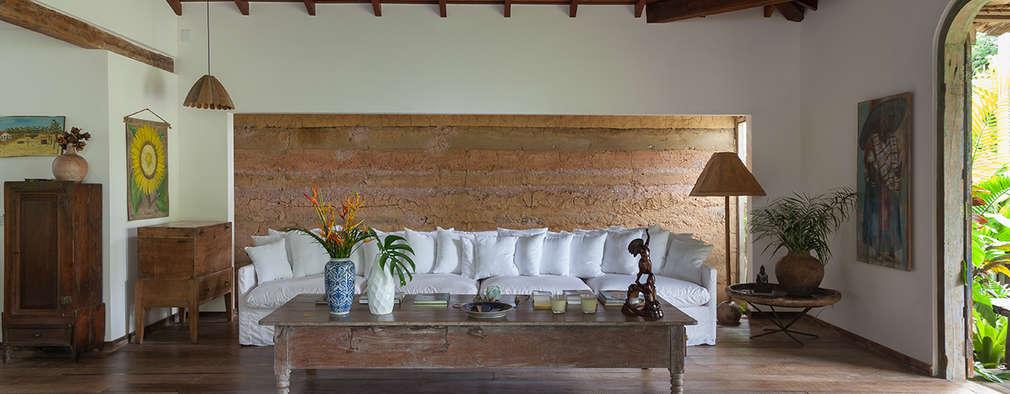 ห้องนั่งเล่น by Vida de Vila