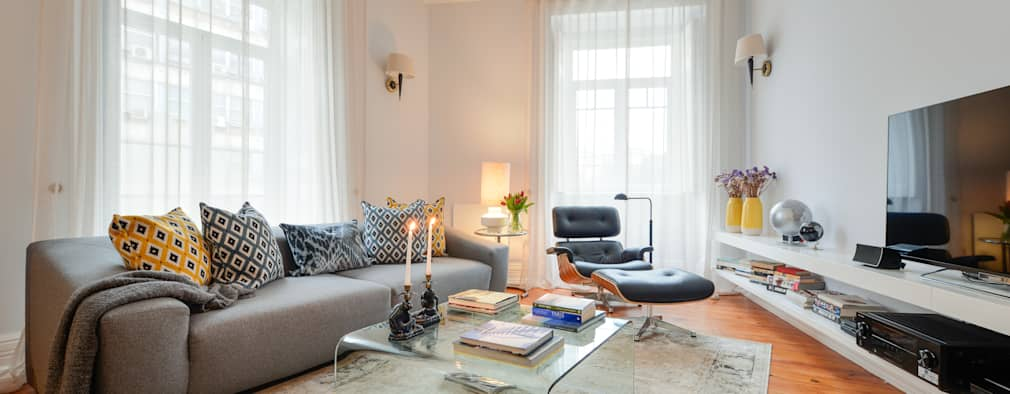 Salon de style de style Moderne par LAVRADIO DESIGN