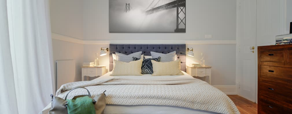 modern Bedroom by LAVRADIO DESIGN