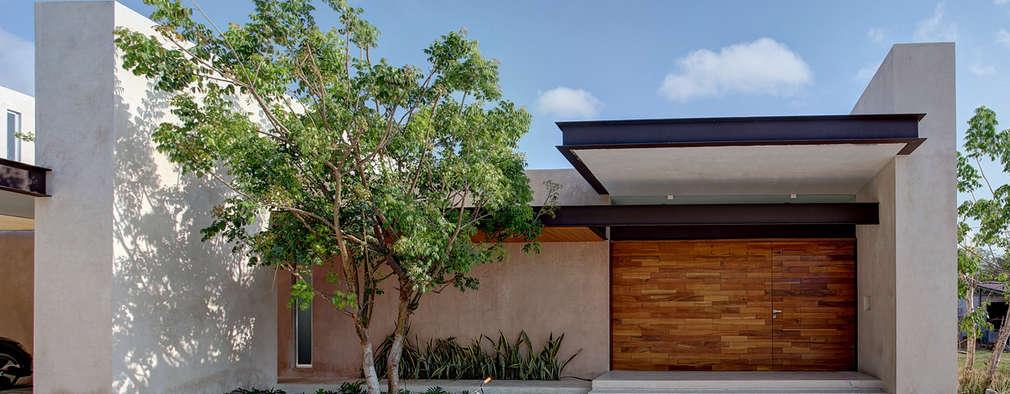 6 casas muy modernas de una sola planta for Modelos de casas de una sola planta