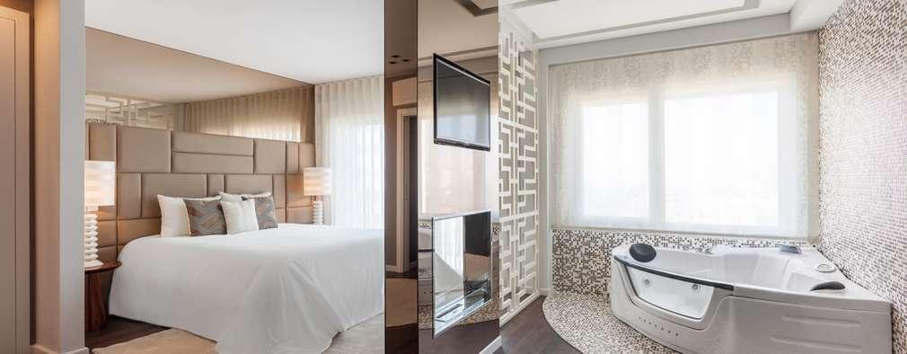 Dormitorios de estilo moderno por Movelvivo Interiores