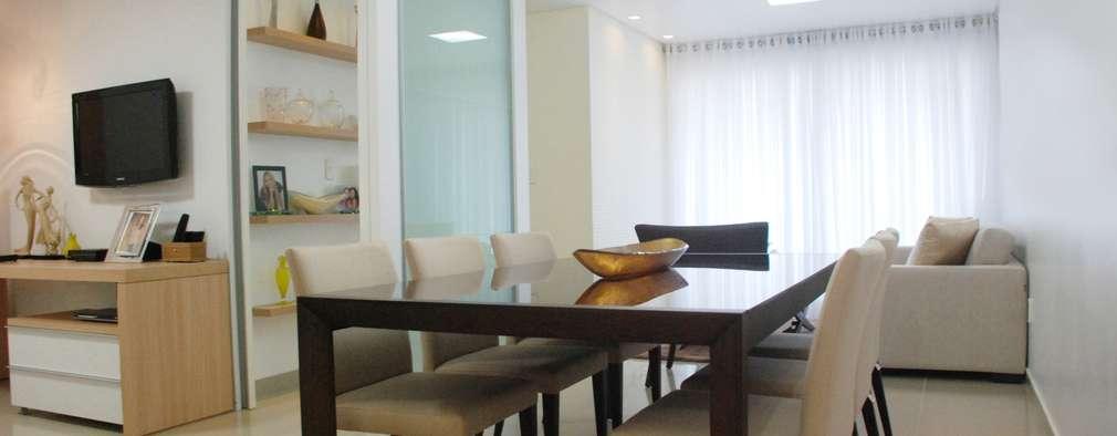 غرفة السفرة تنفيذ Martins Lucena Arquitetos