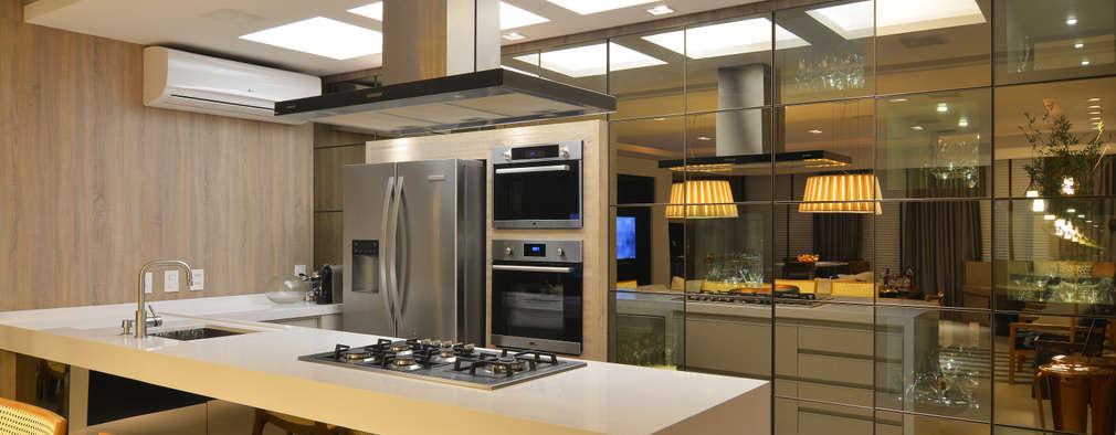 Cocinas de estilo moderno por ANNA MAYA & ANDERSON SCHUSSLER