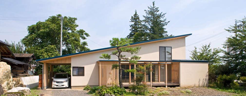 บ้านและที่อยู่อาศัย by 尾日向辰文建築設計事務所