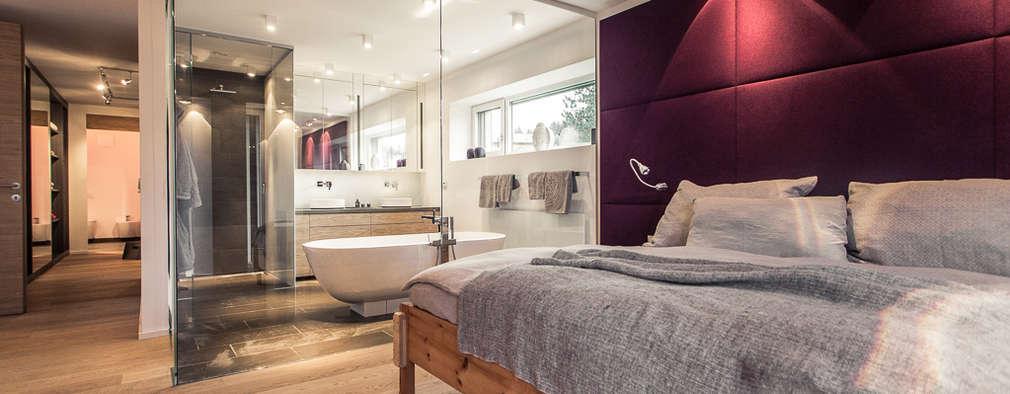 Projekty,  Sypialnia zaprojektowane przez Meissl Architects ZT GmbH