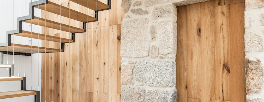 Corridor & hallway by FPA - filipe pina arquitectura