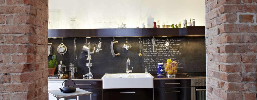 industrial Kitchen by Wirth Architekten