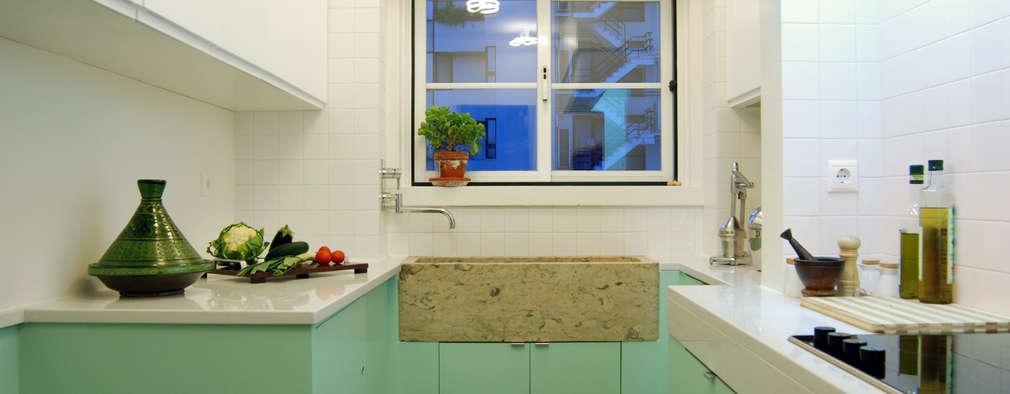مطبخ تنفيذ BL Design Arquitectura e Interiores