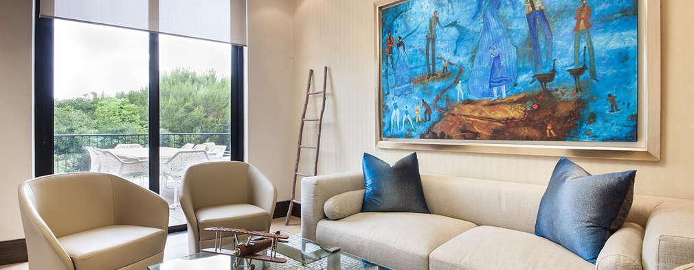 Livings de estilo moderno por Ofis Design