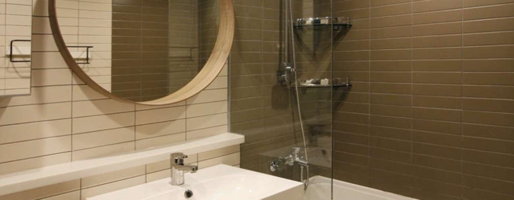 Ванные комнаты в . Автор – 스튜디오 노트