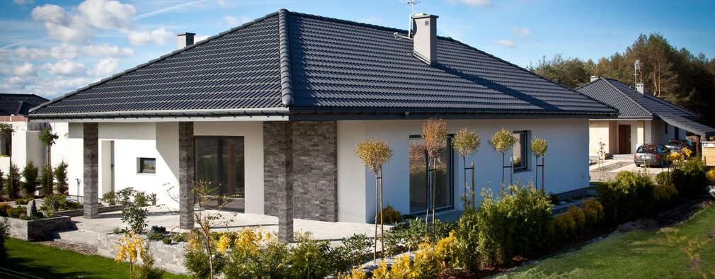 Casa moderna de una planta con planos for Casas modernas de una planta