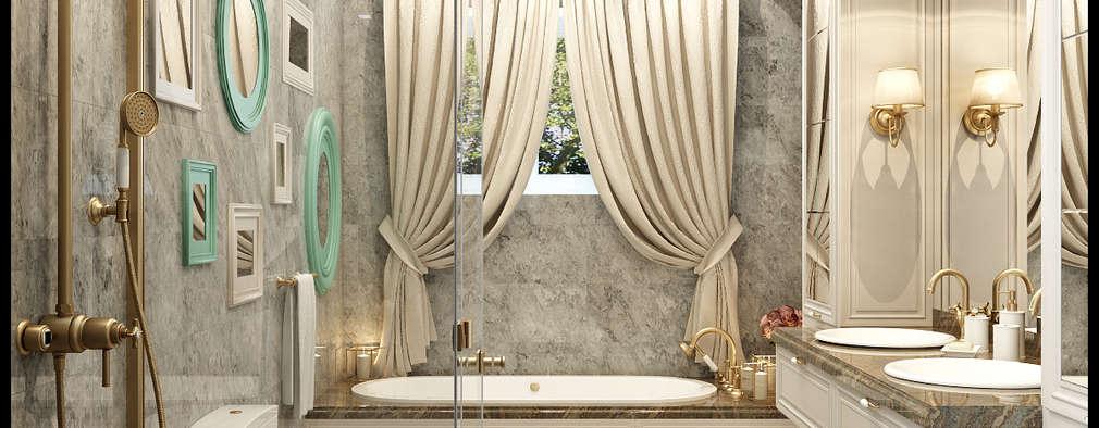 Baños de estilo clásico por Rash_studio