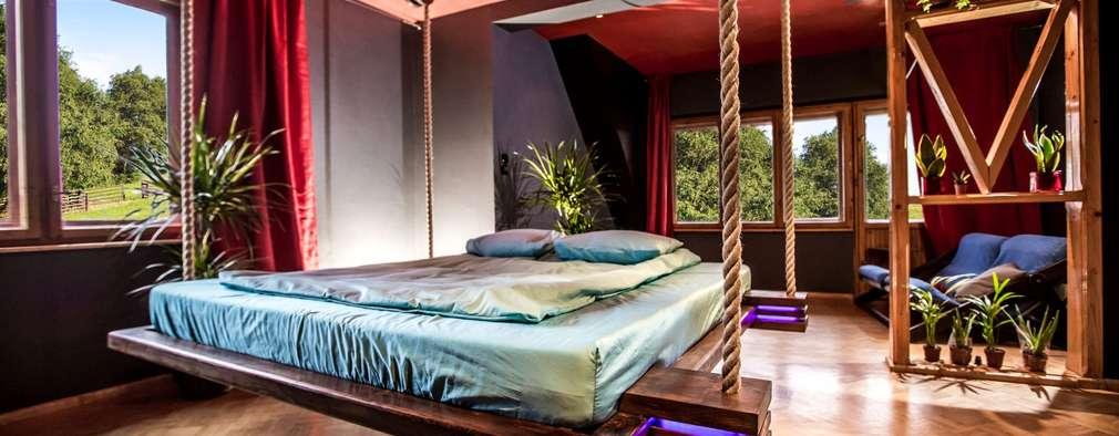 Wiszące łóżko Imperial Couch: styl , w kategorii  zaprojektowany przez Hanging beds