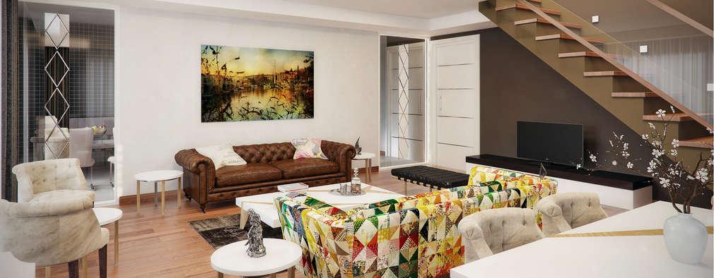 modern Living room by Decora