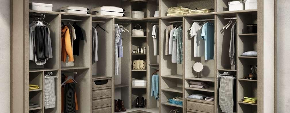 vestidores y closets de estilo moderno por todomadera estepona - Vestidores De Lujo