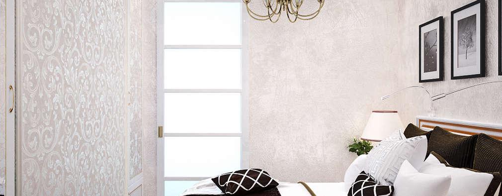 Projekty,  Sypialnia zaprojektowane przez Студия дизайна Interior Design IDEAS