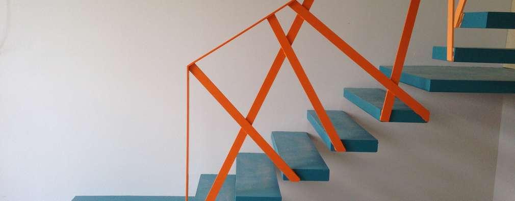 proyectos varios pasillos vestbulos y escaleras de estilo moderno de