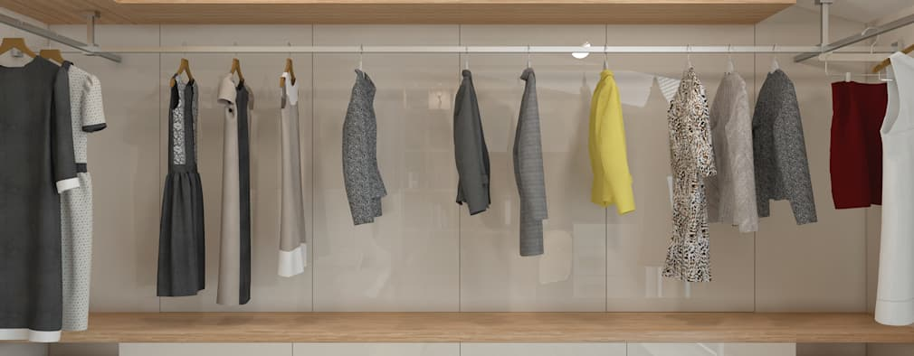 BWorks  – CHILDREN ROOM DESIGNS: modern tarz Giyinme Odası