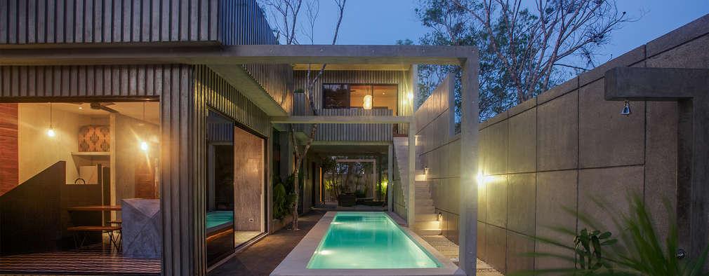 Las 10 piscinas peque as que te animar n a construir la tuya - Piscinas interiores pequenas ...